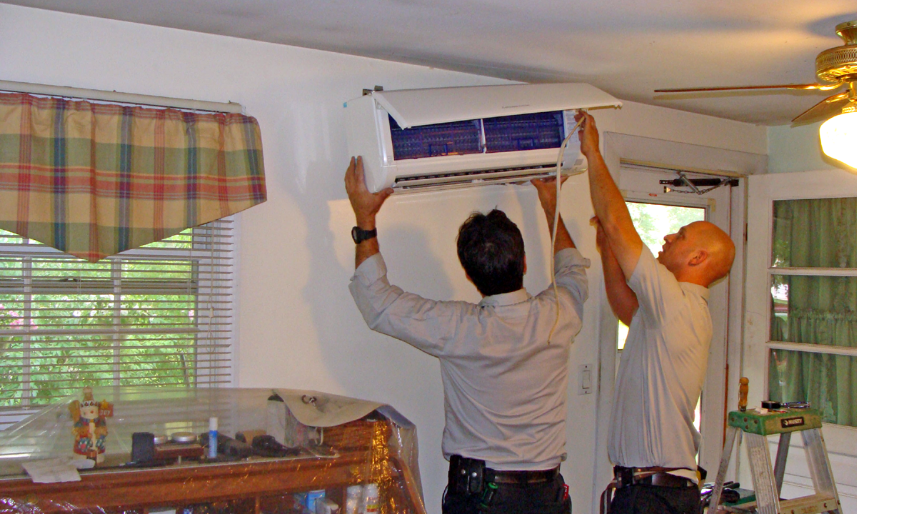 Going Ductless Mitsubishi Ductless Minisplit Installation By