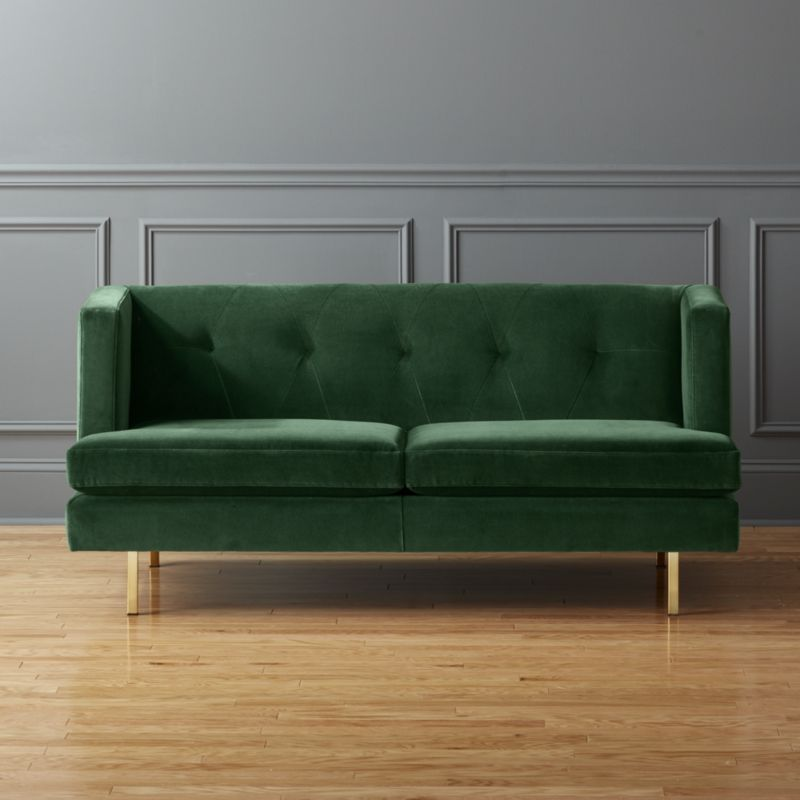 avec apartment sofa with brass legs | Apartments, Construction and ...