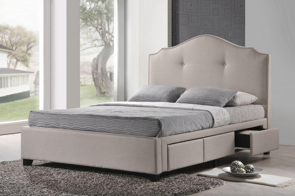 contemporary modern upholstered headboard king storage bed modern c27 storage