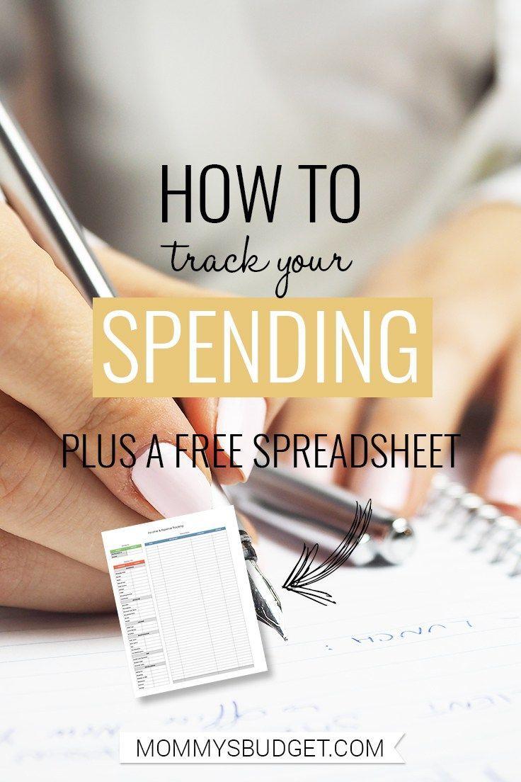 track my spending spreadsheet