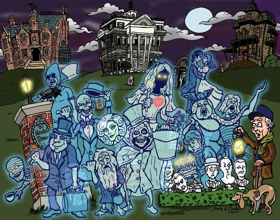 grim grinning ghosts D brodiehbrockie on deviantart