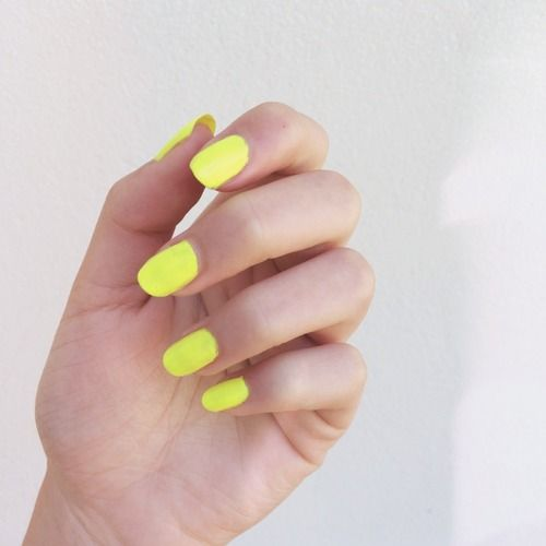 #yellow #nail #yellownails