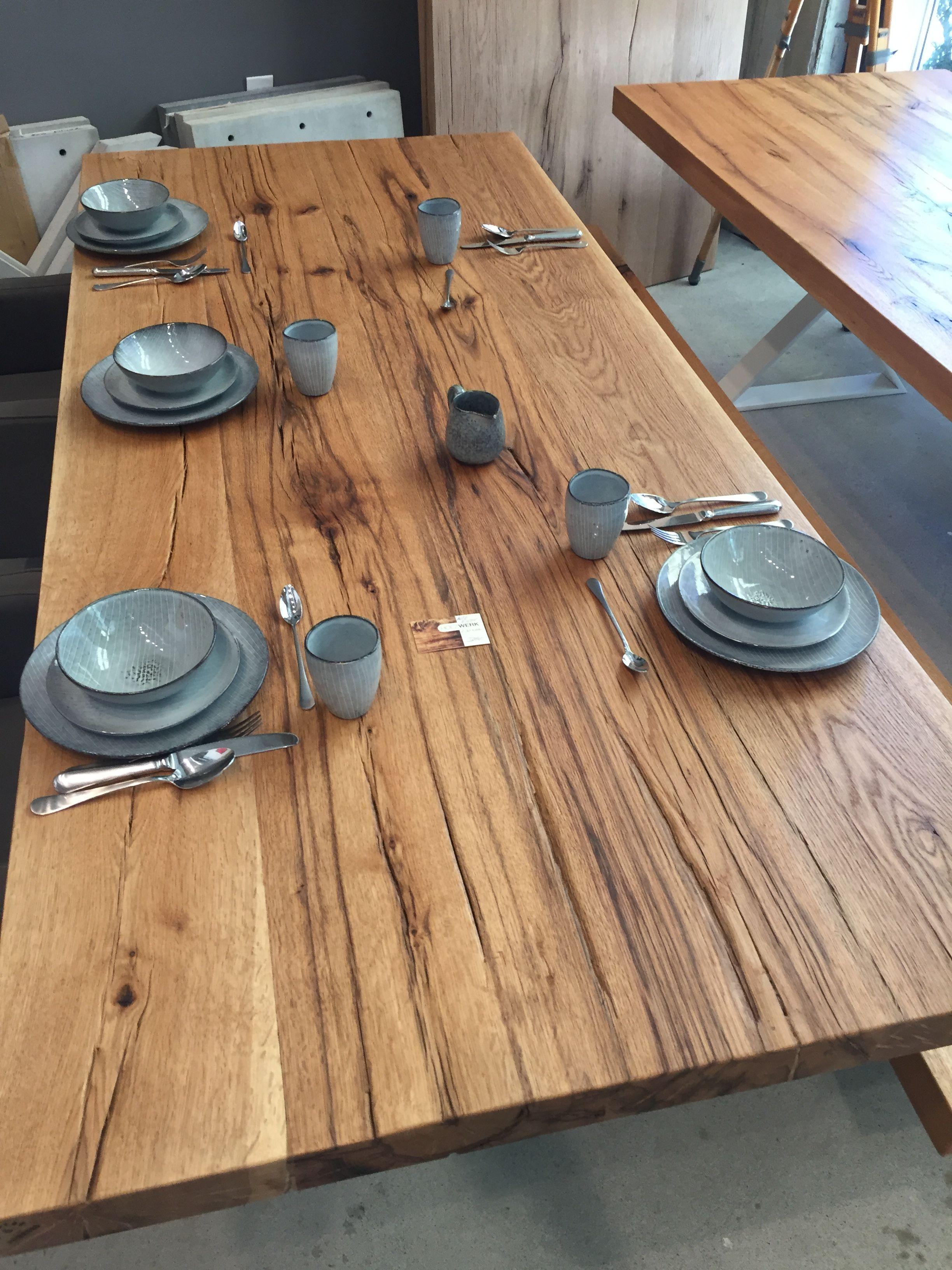esstisch massivholztisch dinningtable table tisch holztisch eichentisch altholz. Black Bedroom Furniture Sets. Home Design Ideas