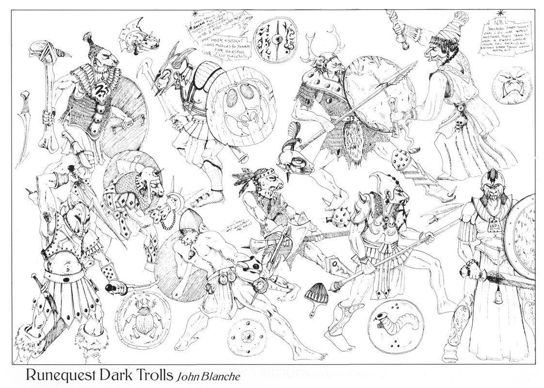 48++ Dark trolls ideas
