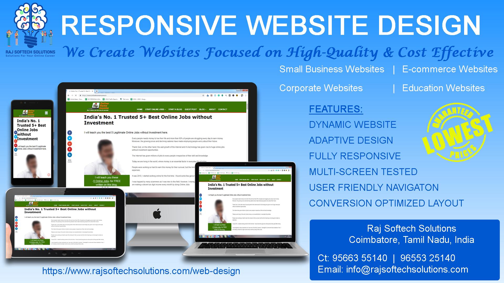 Responsive Website Design Web Design Responsive Website Design Web Design Company