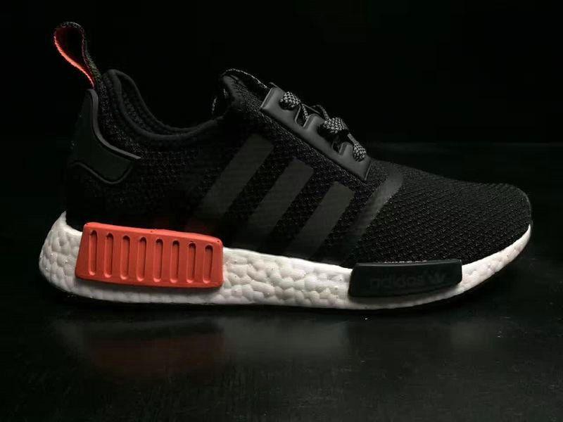 199644bca Buy Unisex Adidas NMD R1 Black White Red BB4297 Shoe