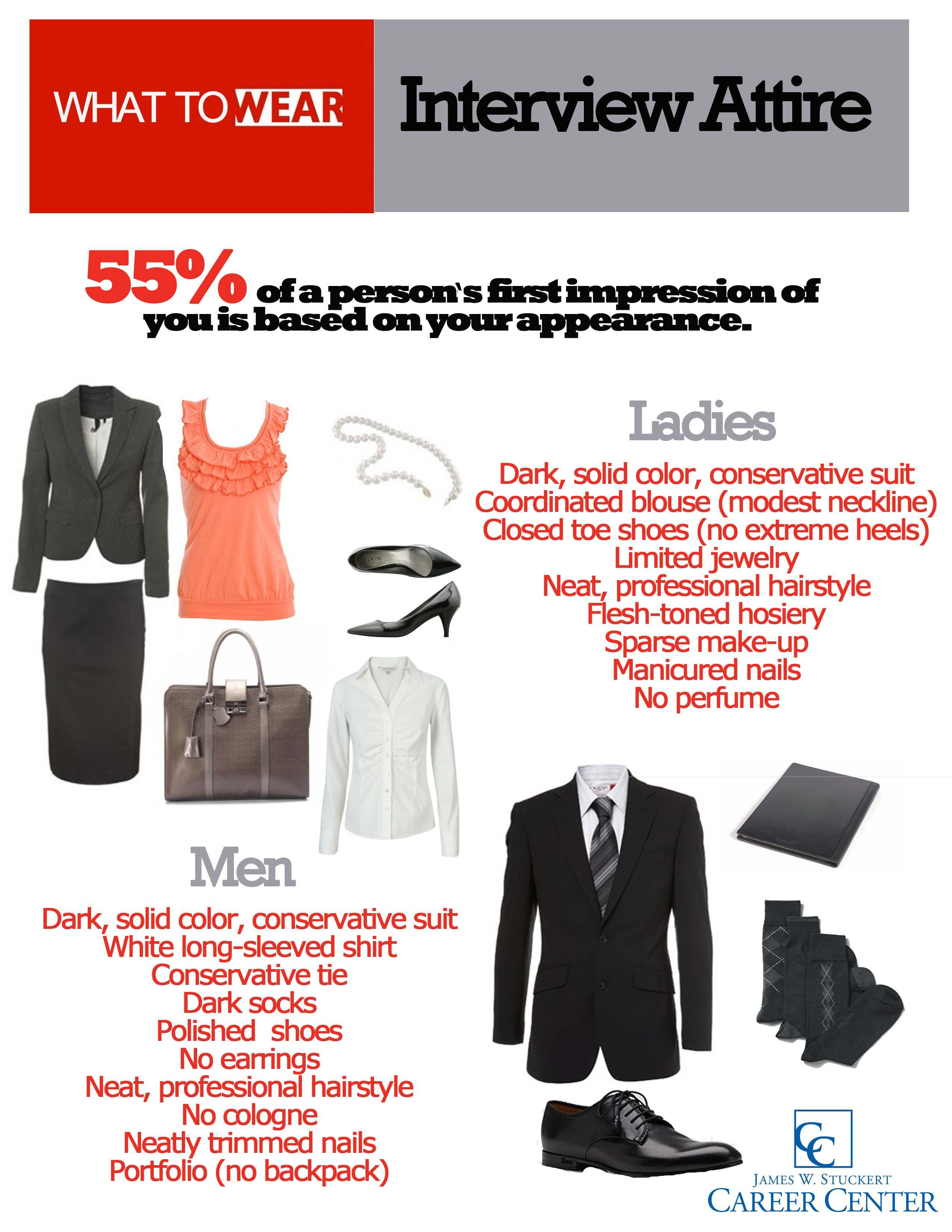 Dos And Donts For Interview Attire - Same Is Applied To -9503