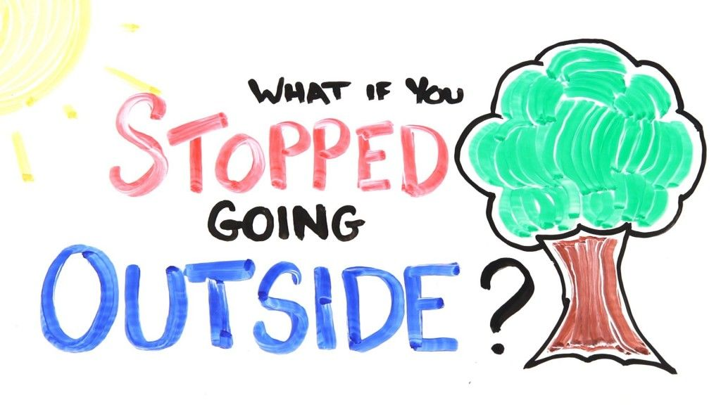 What If You Stopped Going Outside :http://viyrl.com/what-if-you-stopped-going-outside/
