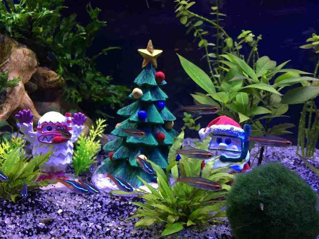 Aquarium Christmas Decorations Christmas Decorations Fish Tank Decorations Fish Tank