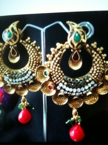 Buy Ethnic jewellery. Contact r.vohra@gmx. Visit jewellery-the 16 Adornments on facebook for more designs and information