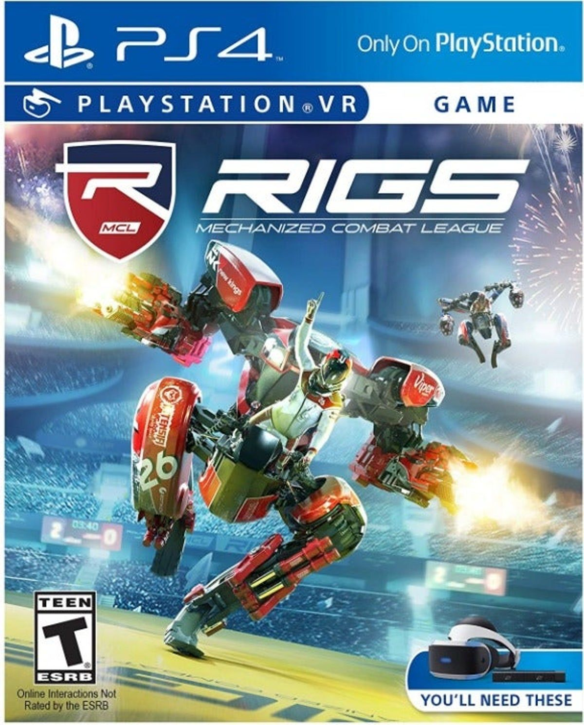 New Sealed PS4 VR Rigs Combat League Vid in 2020 Ps4
