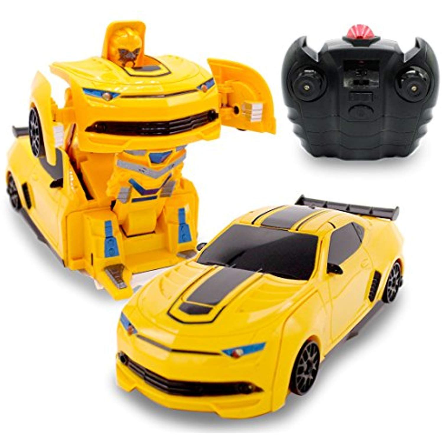 Small RC Toy Transforming Robot Remote Control (3 band