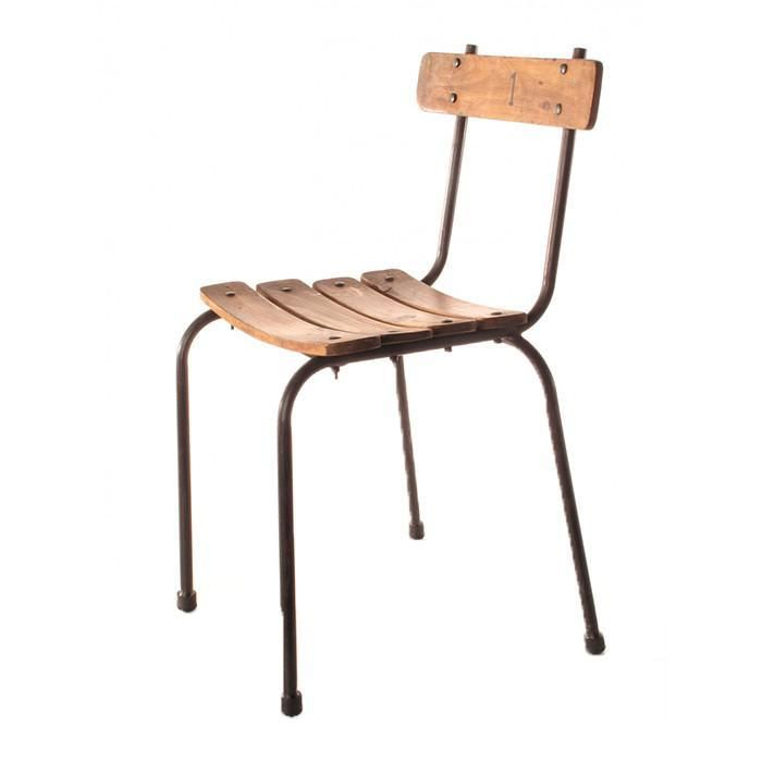 This school chair will bring you back to childhood with a straight forward design and the rich character of the wood. Sits comfortably for child or adult regardless of its small size and has an industrious quality. Perfect for big family dinners, or for a play space. Sourced from India 16