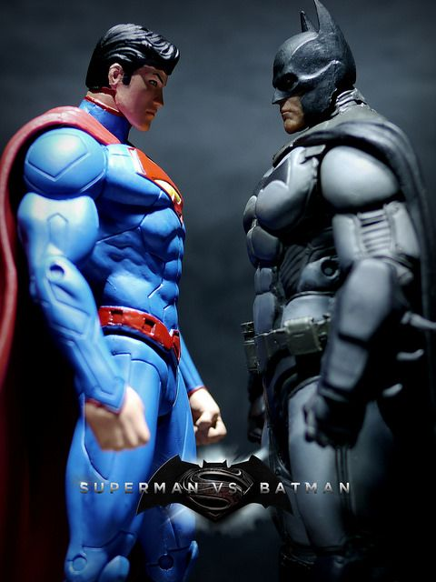 Superman vs Batman | Flickr - Photo Sharing!