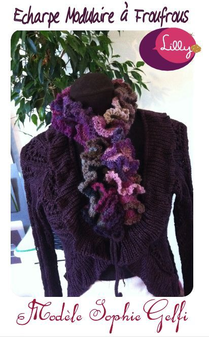 Crochet Scarf  Design by Sophie Gelfi