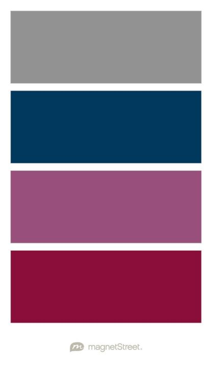 Color Boutique Christmas Color Palette Sangria Wedding Colors Wedding Color Palette