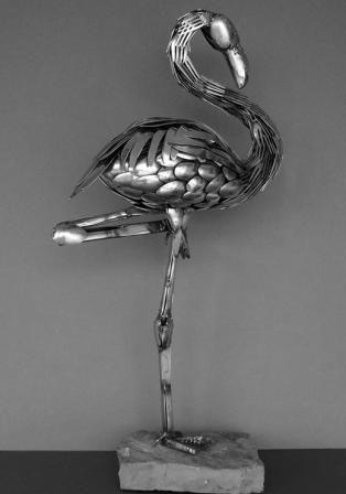 sculpture of cutlery
