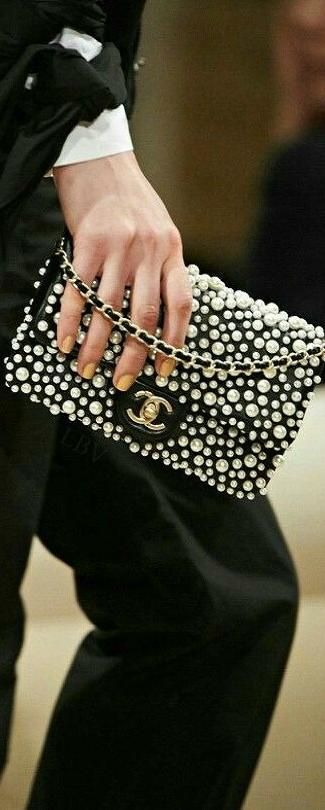 daa4bbe09abd New chanel 2015 pearl flap bag cross body woc wallet on chain dress clutch