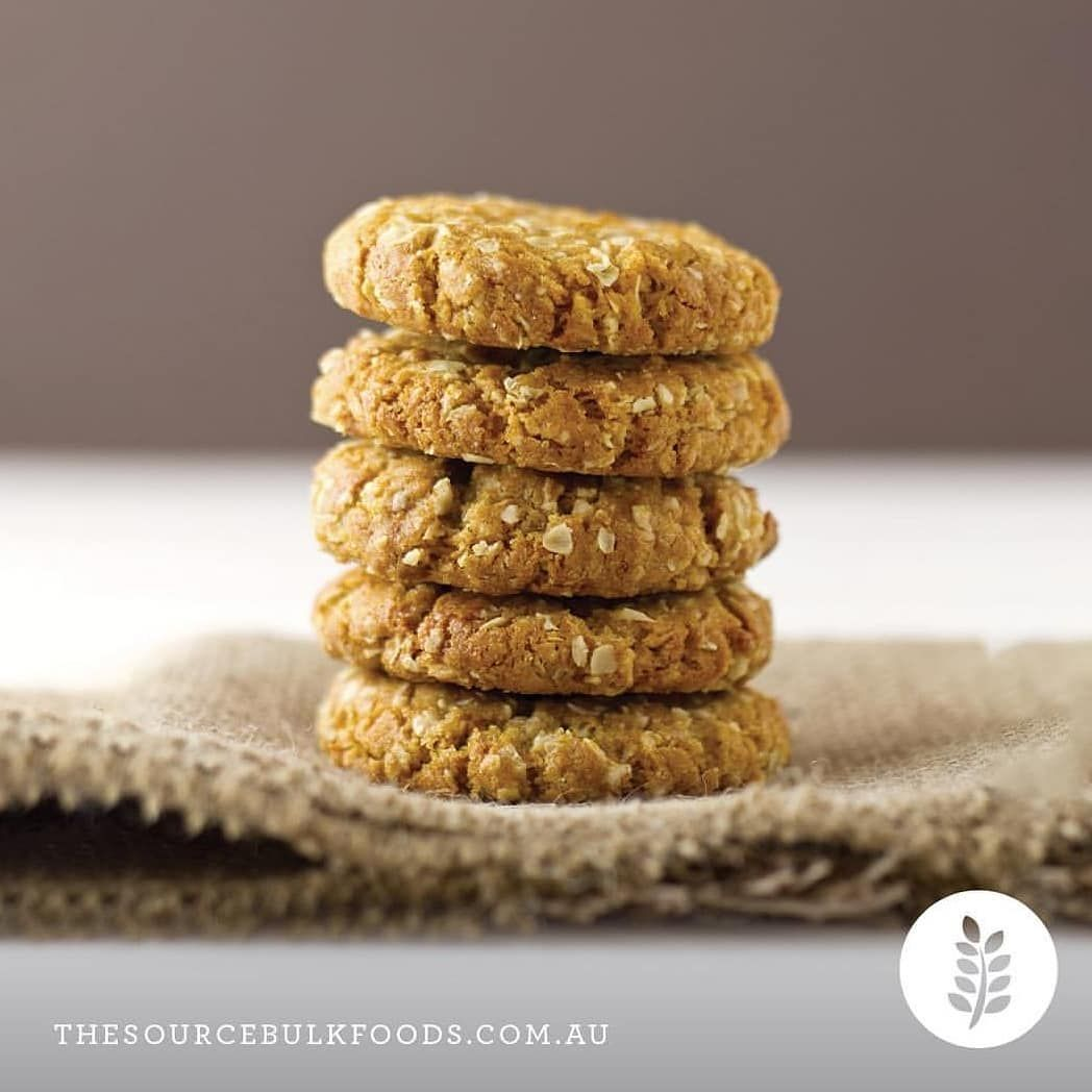 New The 10 Best Recipes With Pictures Have You Tried Our Anzac Biscuit Recipe In A Jar They Are Delic Anzac Cookies Recipe Anzac Biscuits Anzac Cookies