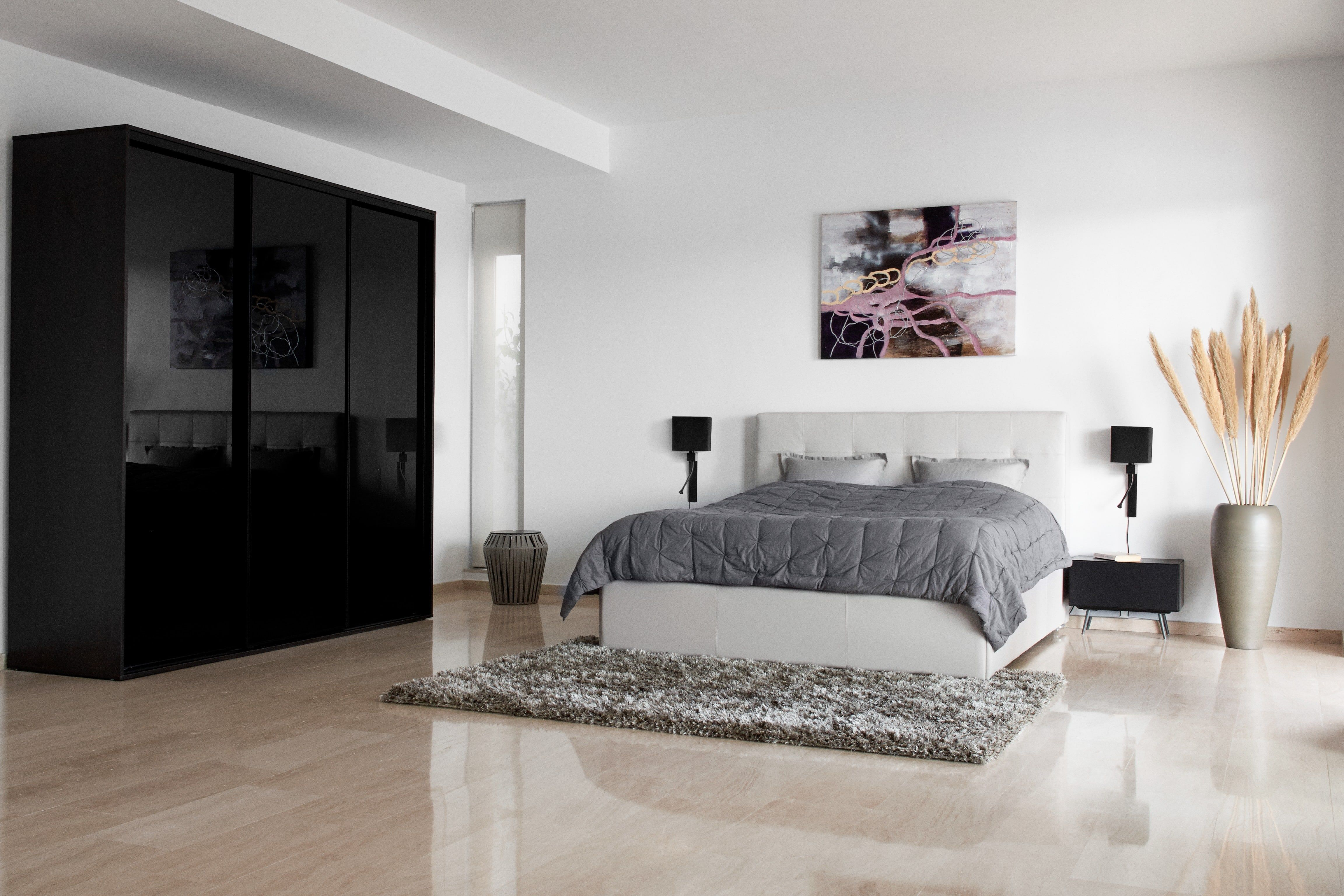 Mezzo Bett mit Lattenrost und Staufach unter