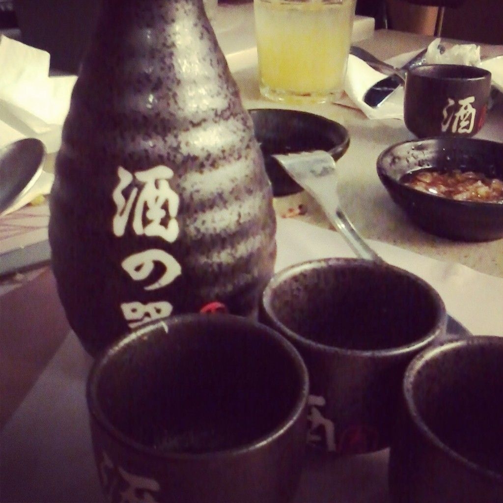 it's just a rice wine #sake