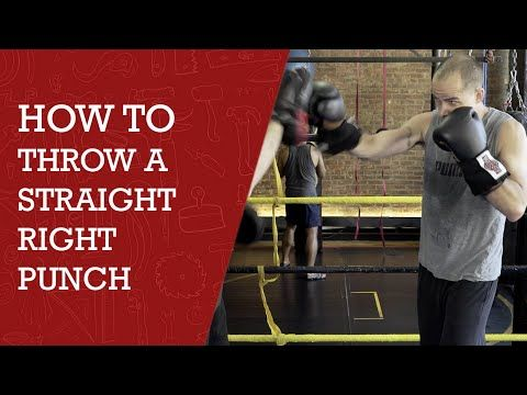 How to throw a straight right punch diy channel youtube