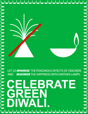 go green this diwali let nature also celebrate us