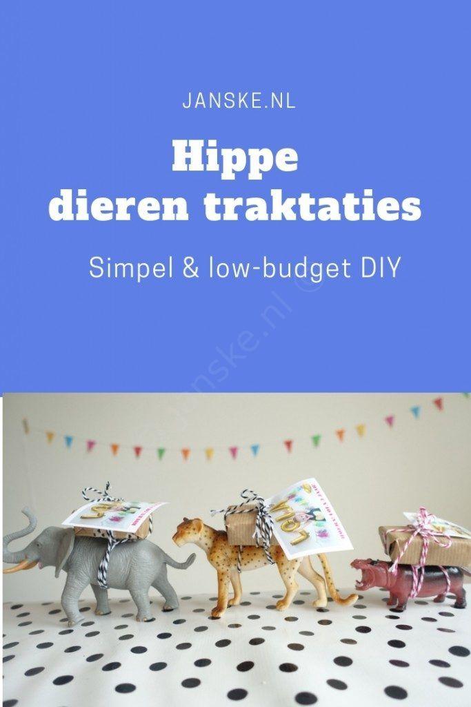 Traktatie inspiratie voor afscheid kinderdagverblijf - Janske.nl