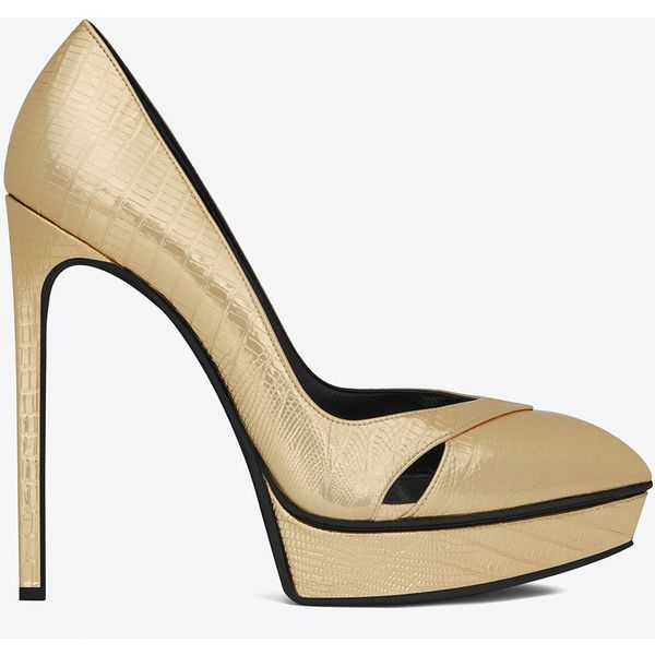 Saint Laurent Classic Janis 105 Escarpin Cut Out Pump 515