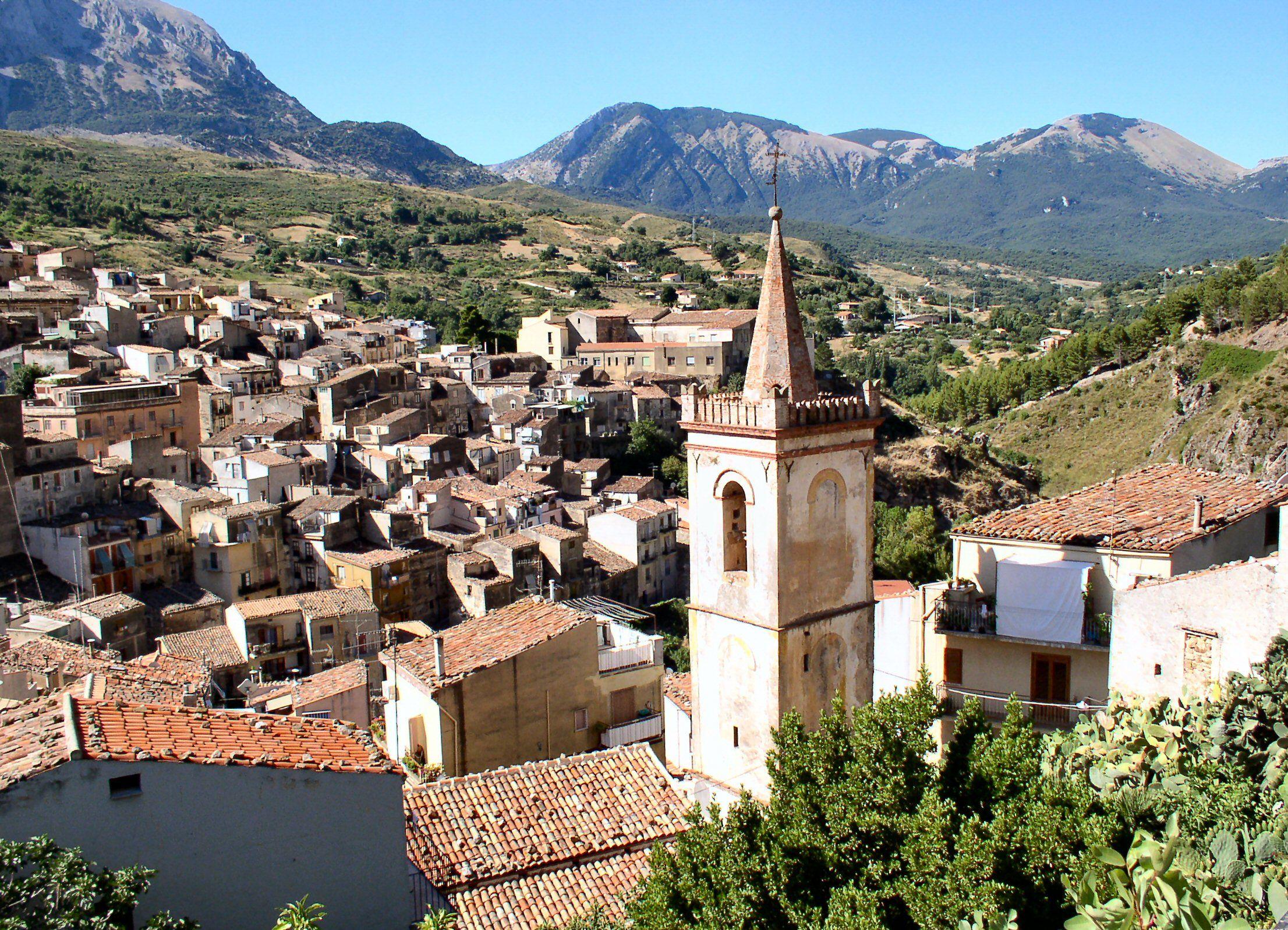 Isnello, Sicily in the Palermo (capital) province where my