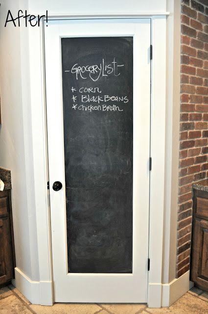 Tafellack Für Die Speisekammer Tür..