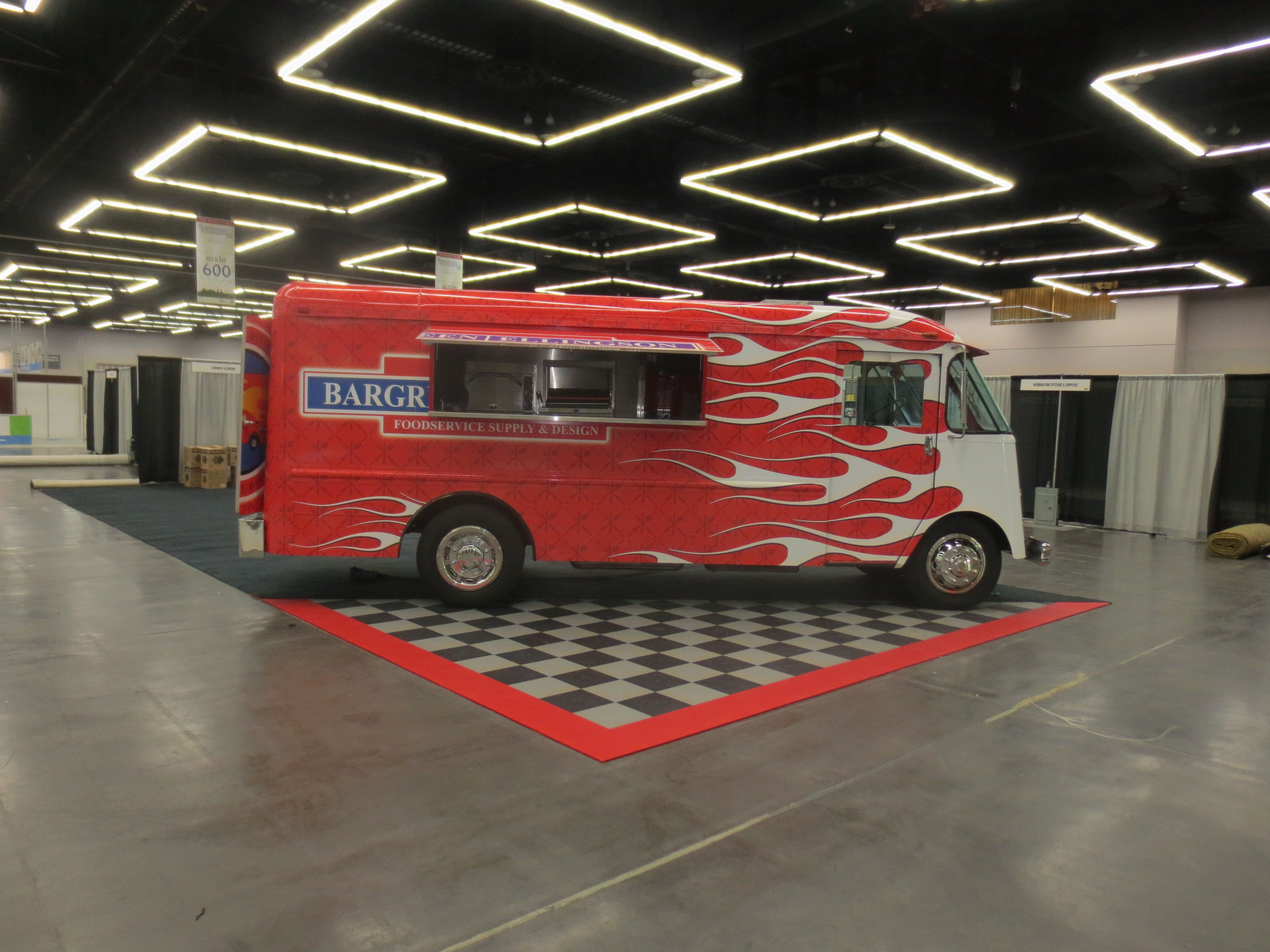 25 of the best food truck designs design galleries paste - 1964 Grumman Gmc Aluminum Step Van Food Truck With Slide Out Pass Shelf And Flamed Exterior Built By Food Truck Fabricator Blackrock And Designer And