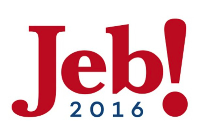 What Each Candidate Says About His/Her Own Campaign Logo.  Bush.png