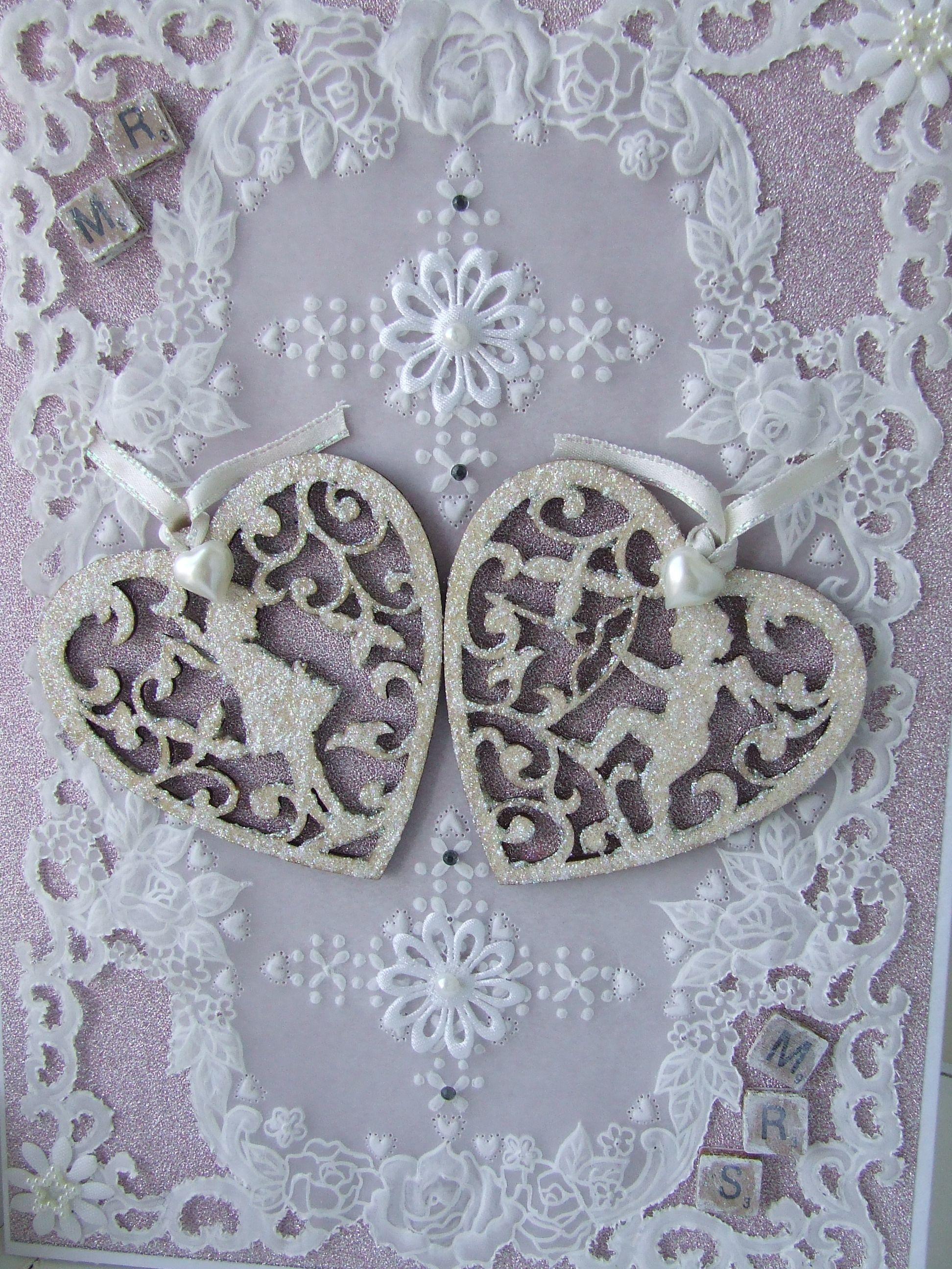 Parchment Wedding Card | Parchment | Pinterest | Wedding card ...
