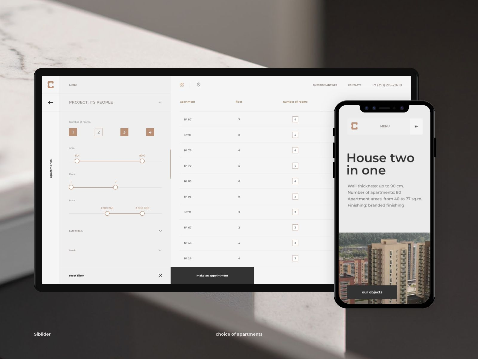 Siblider List Of Apartments Concept Design Show And Tell