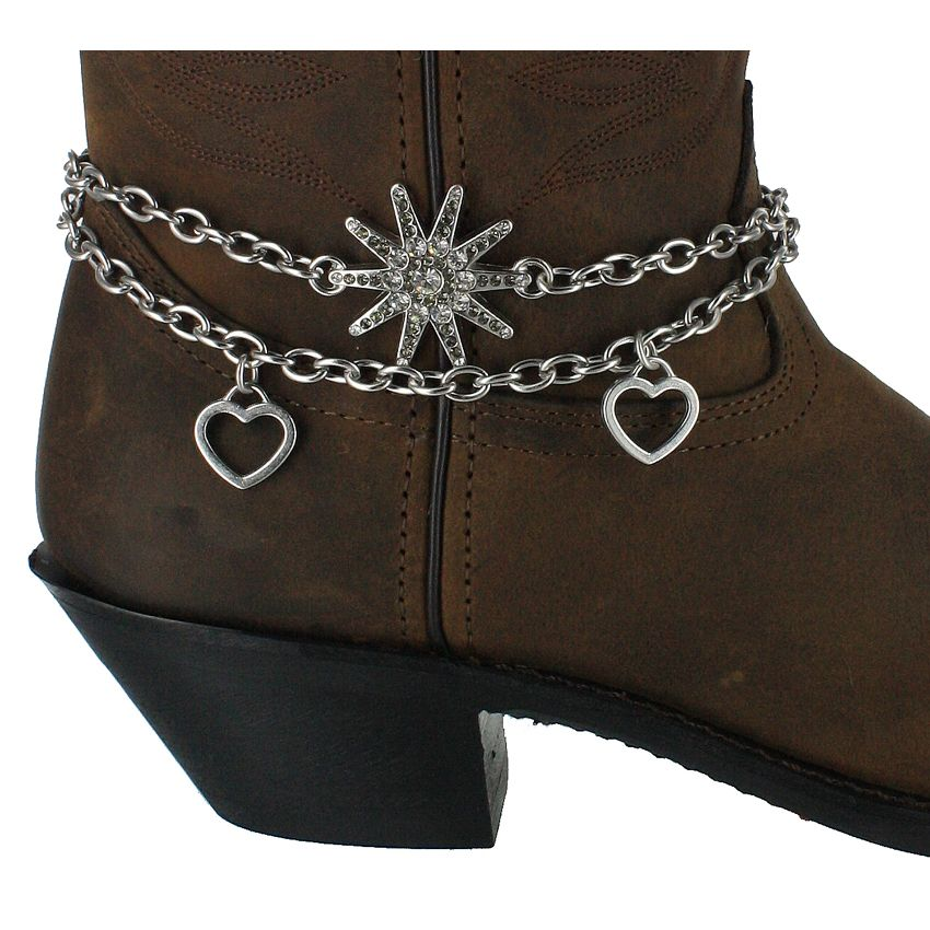Shyanne® Women's Spur and Hearts Boot Bracelet