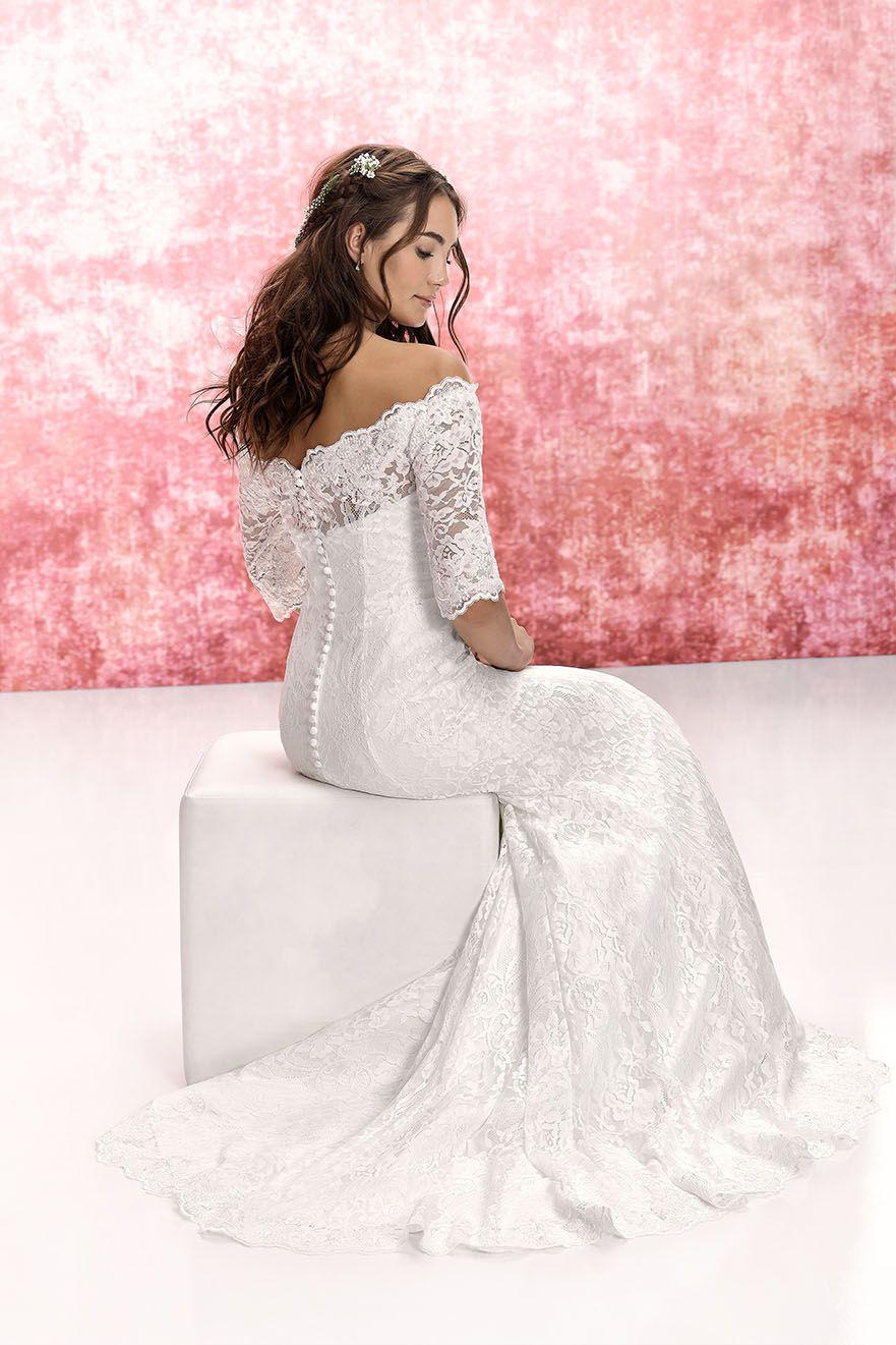 Jessie K By Tres Chic Kollektion 2019 Langes Elegantes Brautkleid
