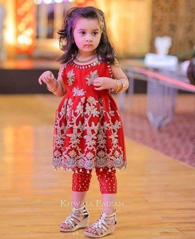 New Latest Baby Girls Fancy Wedding Dress Design | Stylish ...