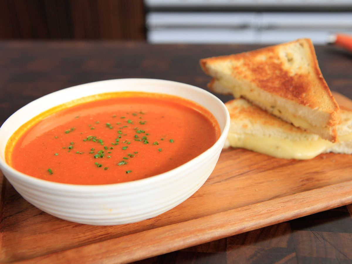 Tex mex tomato soup and grilled cheese recipe tex mex cheese tex mex tomato soup and grilled cheese forumfinder Image collections