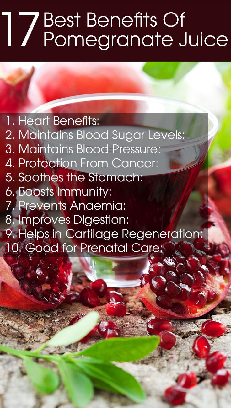 20 health benefits of pomegranate juice | pomegranate