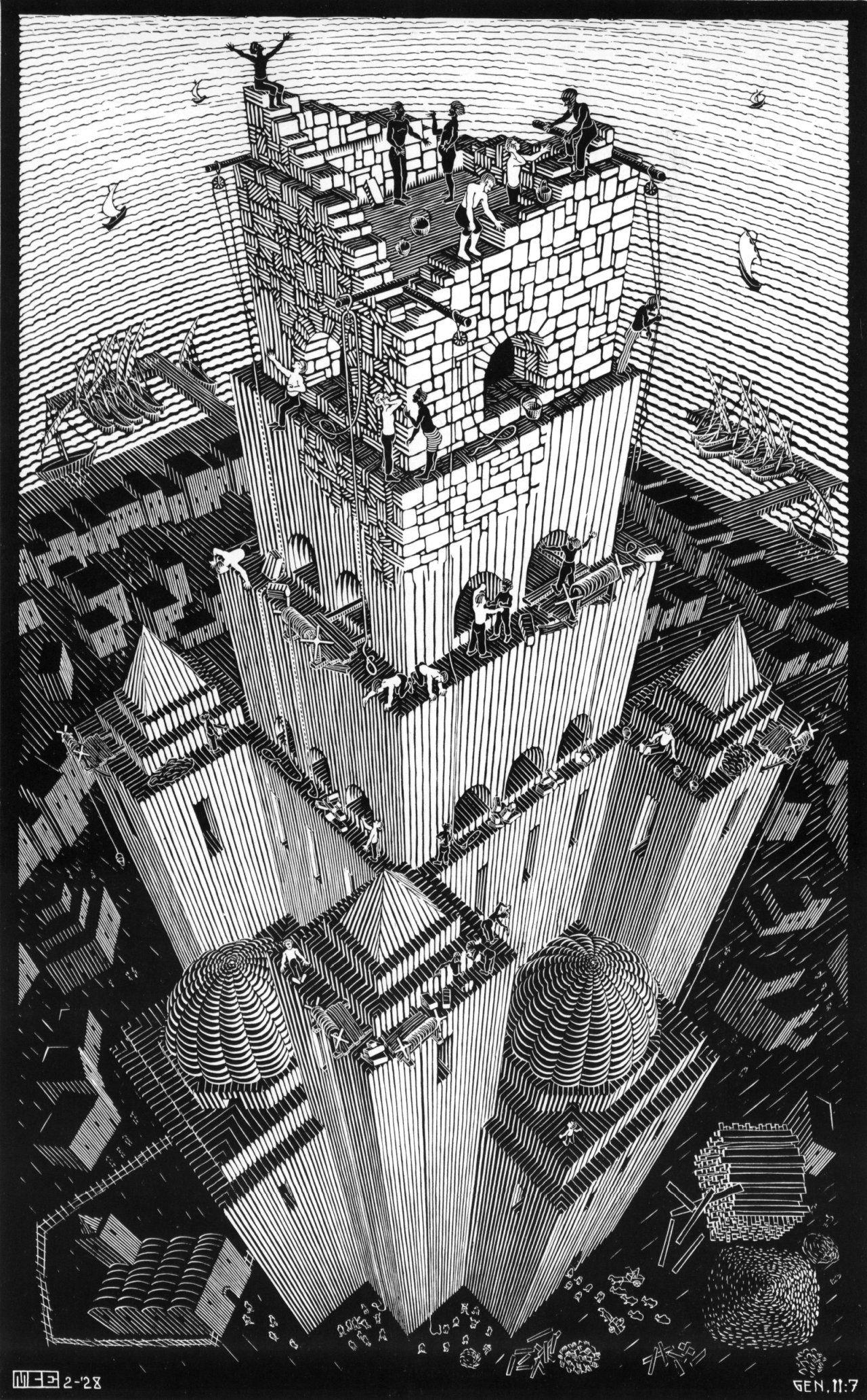 Maurits Cornelis Escher - Un artista de este tiempo... | M.C. Escher ...