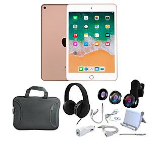 2019 Apple iPad Mini 5 64GB Wi-Fi Tablet w/ Carry Sleeve & Headphones NEW Apple iPad Mini 5 64GB Wi-Fi Tablet withCarry Sleeve