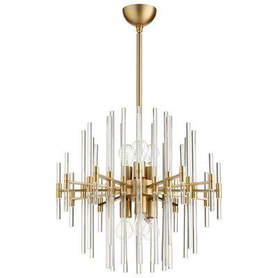 Cyan design quebec 6 light sputnik chandelier size 2475 h x 2275 cyan design quebec 6 light sputnik chandelier size 2475 h x 2275 aloadofball Image collections