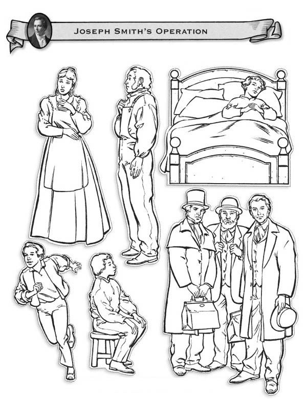 Joseph Smith Operations Coloring Page | FHE Ideas | Pinterest