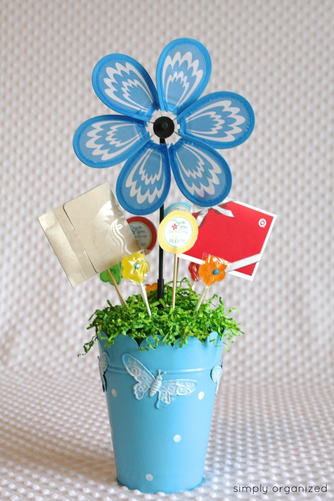teacher appreciation gift - from simply organized blog | teacher ...