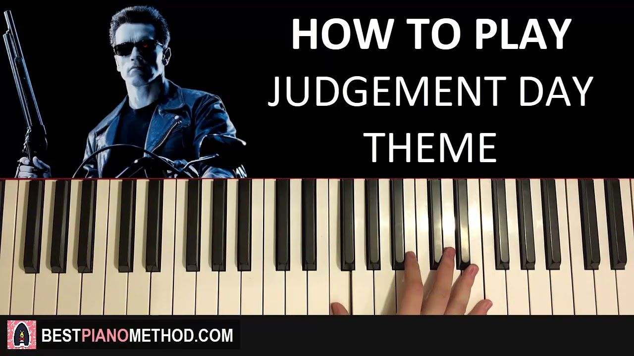 HOW TO PLAY - Terminator 2 - Judgement Day Theme (Piano ...