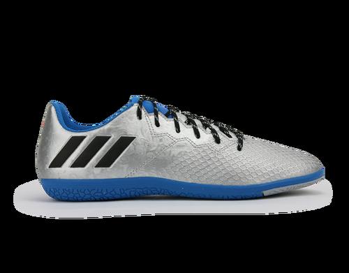 51ead31d826d0d adidas Kids Messi 16.3 Indoor Soccer Shoes Silver Metalic Core Black ...
