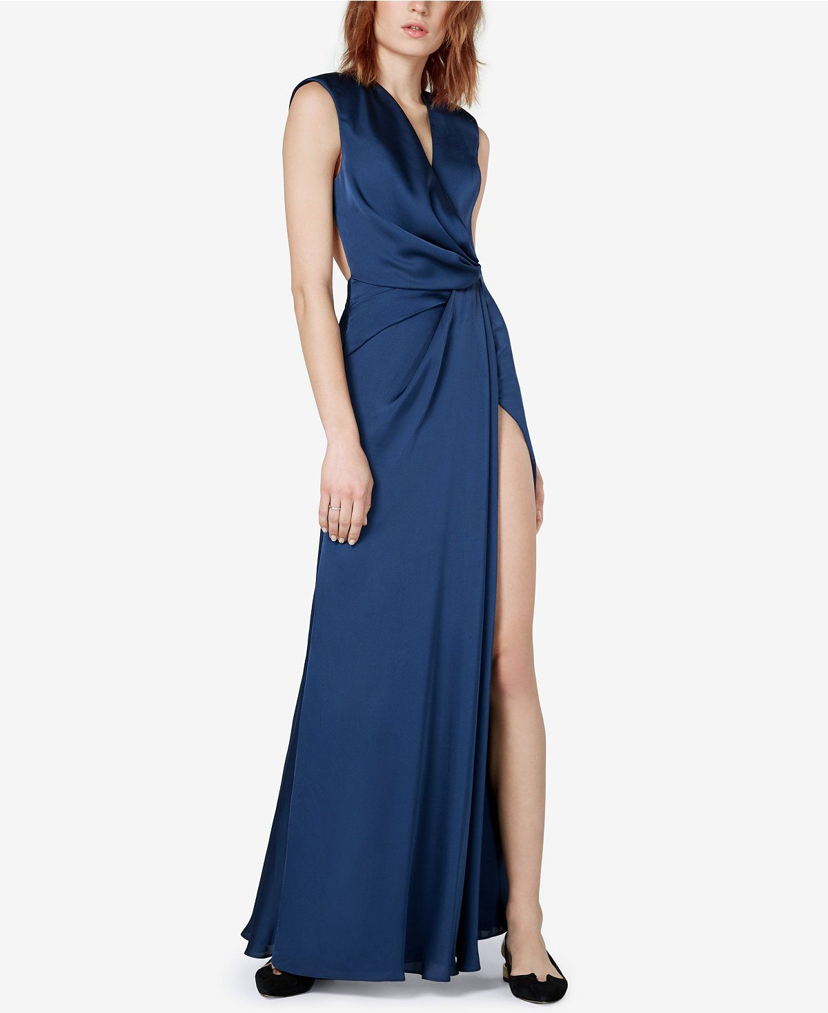 Fame and Partners Hyacinth Open-Back Wrap Dress - Fame and ...