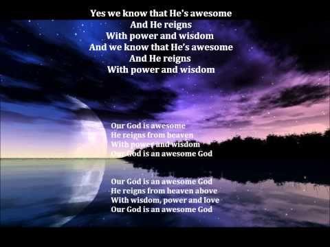 Awesome God A Cappella W Lyrics Youtube A Cappella Lyrics God
