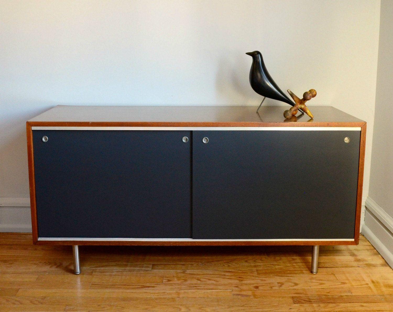 Credenza Moderna Vintage : Vintage george nelson credenza .. mid century modern furniture